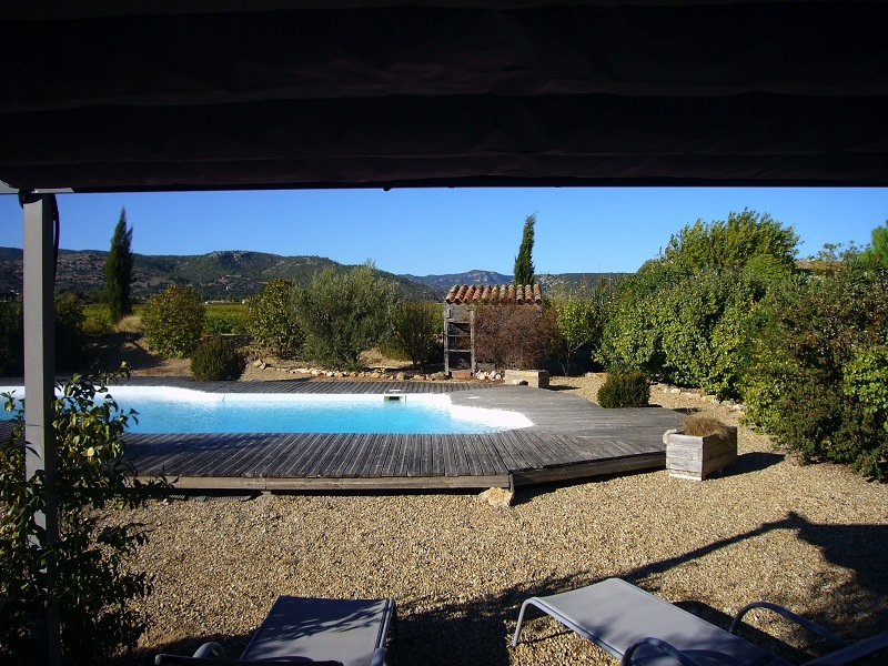photo gite languedoc piscine 09