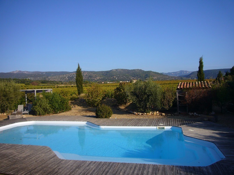 photo gite saint guilhem le desert piscine 07
